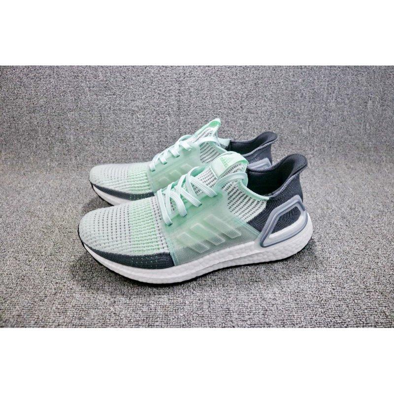 Mens Designer Shoes Ultraboost 5.0 Black White Ice Mint
