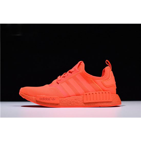 Adidas NMD R1 Monochrome Pack Solar Red